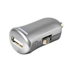 eSTUFF Allure USB-laddare till bilen, 1 Ampere, Grå