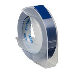 DYMO Präglingstape 9mm x 3m blå 3-pack