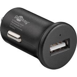 USB-laddare till bilen, 12V > 1 x USB, 2.4 A, QC 3.0