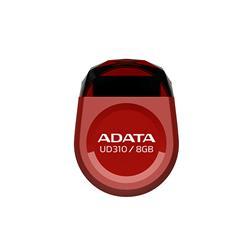 ADATA DashDrive UD310, USB 2.0-minne 8 Gb, rött