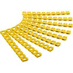 Kabelmärkning, A-C (3 x 30), för kablar upp till 6 mm