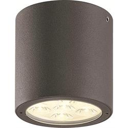 Takarmatur Spirit Down II, 8W LED, IP54, mörkgrå