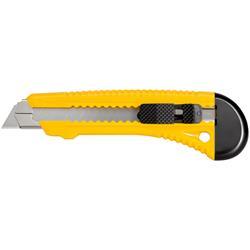 Brytbladskniv, plast, 18 mm knivblad