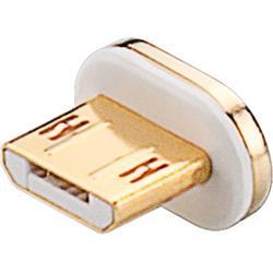 Extra kontakt till kabel med magnetfäste, microB hane