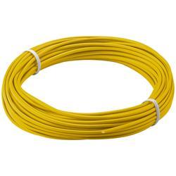 Kopplingstråd, flertrådig 0.14 mm<sup>2</sup>, 10 meter gul