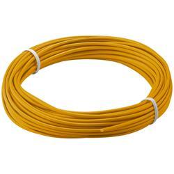 Kopplingstråd, flertrådig 0.14 mm<sup>2</sup>, 10 meter orange