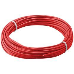Kopplingstråd, flertrådig 0.14 mm<sup>2</sup>, 10 meter röd