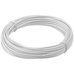 Kopplingstråd, flertrådig 0.14 mm<sup>2</sup>, 10 meter vit