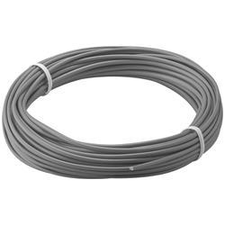 Kopplingstråd, flertrådig 0.14 mm<sup>2</sup>, 10 meter grå
