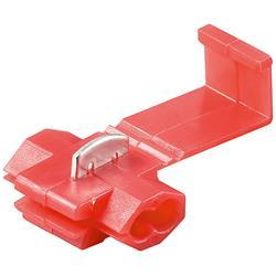 Röd skarvklämma / avgrening, 10-pack