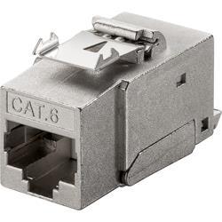 CAT6 RJ45 STP skärmat Keystone-uttag, verktygsfritt