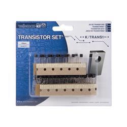 Komponentsats transistorer, c:a 100 styck