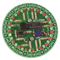 Byggsats elektronisk roulette - Velleman MK119