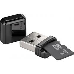 Minneskortläsare USB 2.0, läser micro SD