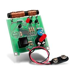 Byggsats metalldetektor - Velleman K7102