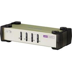 ATEN CS84U KVM-switch, 1 konsol styr 4 datorer