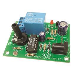 Byggsats ljusstyrd strömbrytare - Velleman MK125