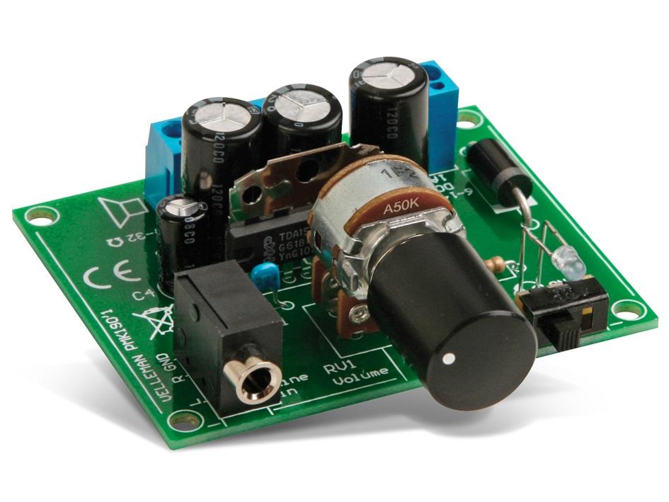 ansluta en kondensator till min förstärkare