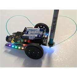 4tronix pennhållare till Bit:Bot, med LED-belysning