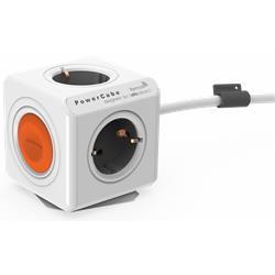 Allocacoc PowerCube Extended Remote, 4 jordade uttag