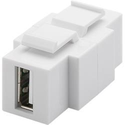 Goobay Keystone-modul, USB 2.0 A hona till B hona