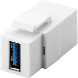 Goobay Keystone-modul, USB 3.0 A hona till A hona