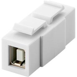 Goobay Keystone-modul, USB 2.0 B hona till B hona