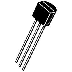 BC557B, PNP-transistor, 5-pack