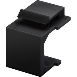 Täckbricka för Keystone-panel, 4-pack, svart