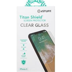 eSTUFF Titan Shield, Clear, för iPhone X