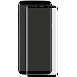 eSTUFF Titan Shield, Curved Black för Samsung A8 (2018)