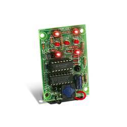 Byggsats elektronisk tärning - Whadda WSG113