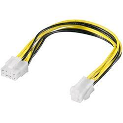 Strömkabel ATX12 PCIe 8-pol hane till P4 4-pol hona
