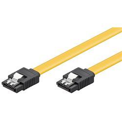 SATA-kabel, rak hane till rak hane, låsning, 30 cm