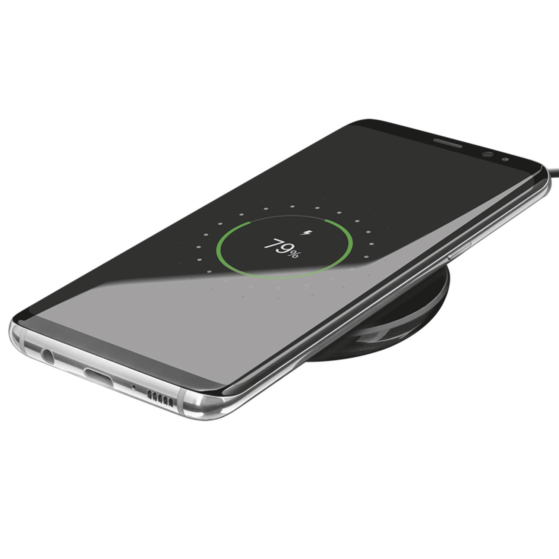 Trust Primo trådlös laddare för smartphones (svart)
