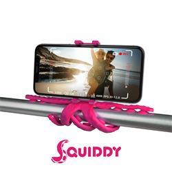Celly Squiddy, flexibel hållare för telefon/kamera, rosa
