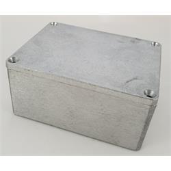 Inbyggnadslåda i aluminiumlegering, 115 x 90 x 55 mm