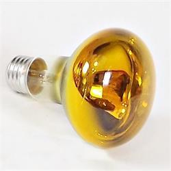 Reflektorlampa E27 60 Watt, gul