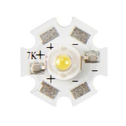 Högeffekt LED, 3 Watt, varmvitt ljus, 210 lumen
