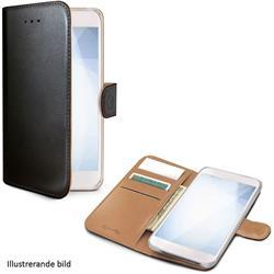 Celly Wallet Case Samsung Galaxy J6+, svart/brunt