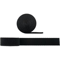 Goobay kabelsortering, svart kardborrband, 1 meter