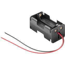 Batterihållare för 4 x 1.5 Volts AA-batterier
