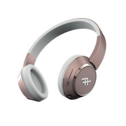 iFrogz Coda Wireless Headphone with mic, Rose Gold