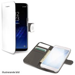 Celly Wallet Case Samsung Galaxy S10 Plus, vit/grå