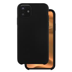 Champion Silicon Cover iPhone 11, svart