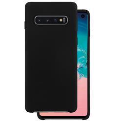 Champion Silicon Cover Samsung Galaxy S10, svart