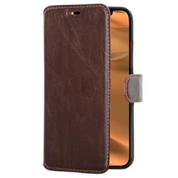 Champion Slim Wallet Case iPhone 11, brun