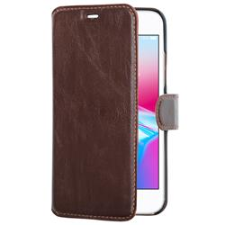 Champion Slim Wallet Case iPhone 7/8, brun