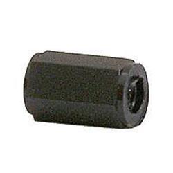 M3 6-kantig distanshylsa i plast, 10 mm, 10-pack