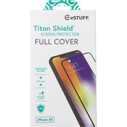 eSTUFF Titan Shield, Full Black, för iPhone XR